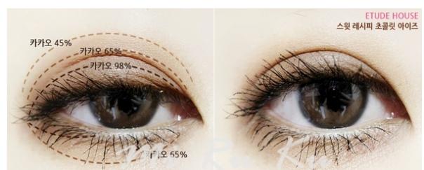 巧克力眼影3