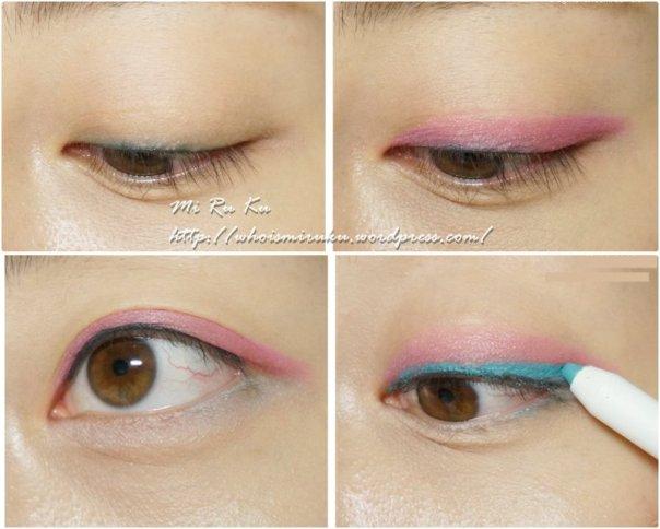 三色眼影組合