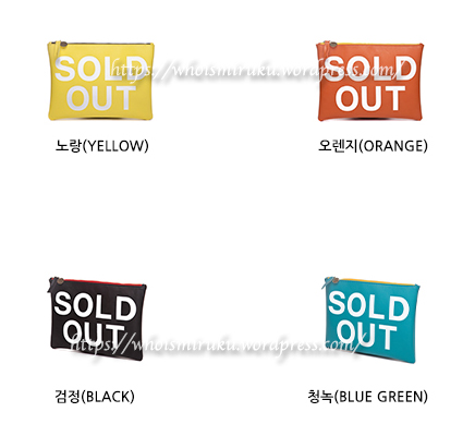 sold out color