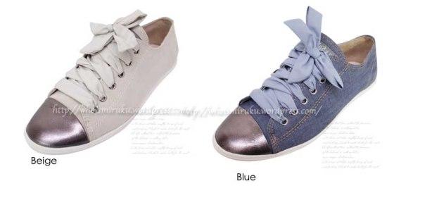 緞帶鞋 color