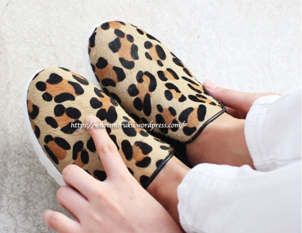 豹紋鞋款2