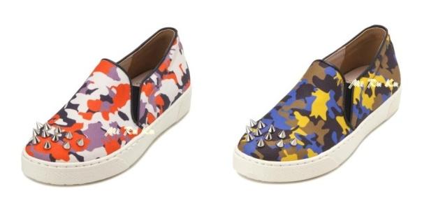 2LA14025 鉚丁迷彩鞋-color