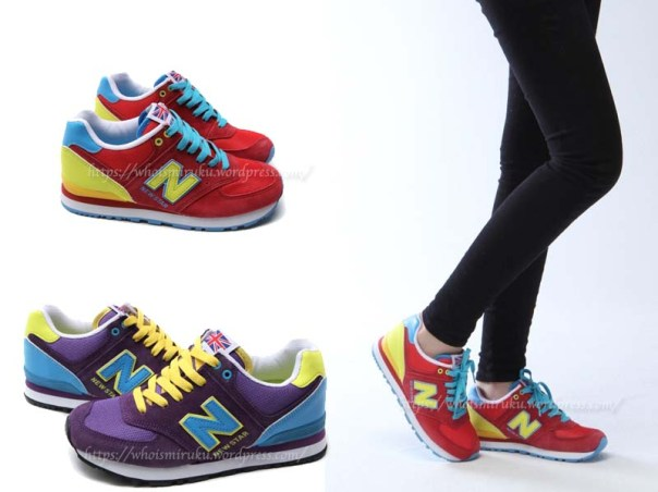 亮彩鞋款1