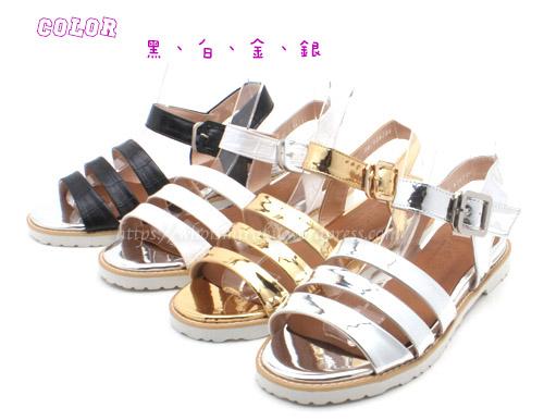 雅典涼鞋款顏色