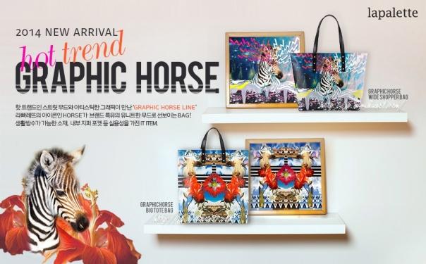 HORSE SHOPPING BAG-04