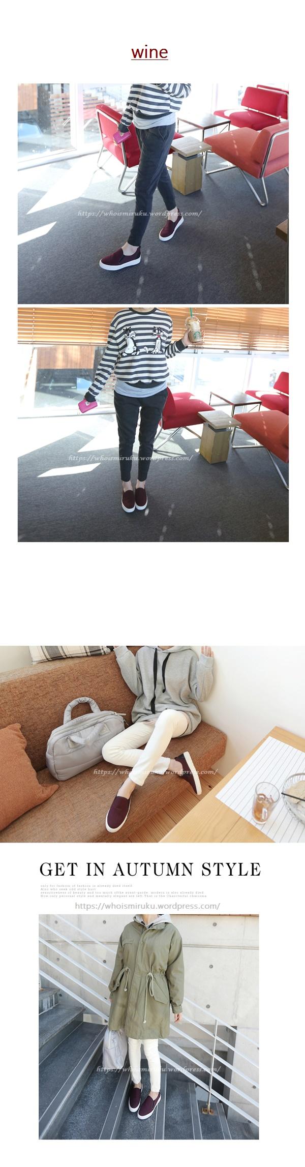 百搭簡約學院風平底鞋-01