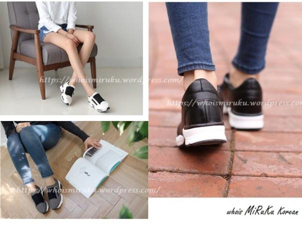 拉鍊運動鞋-1