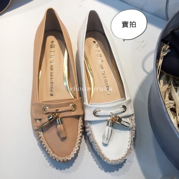 淑女流蘇平底鞋-2