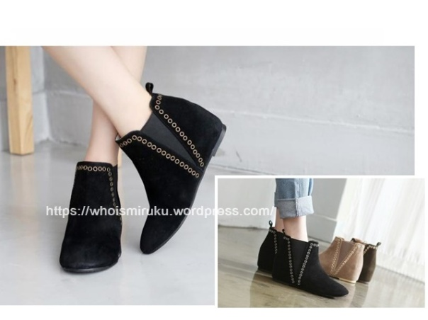 踝靴-網-1