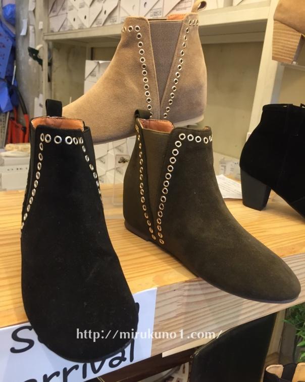 連線踝靴-1